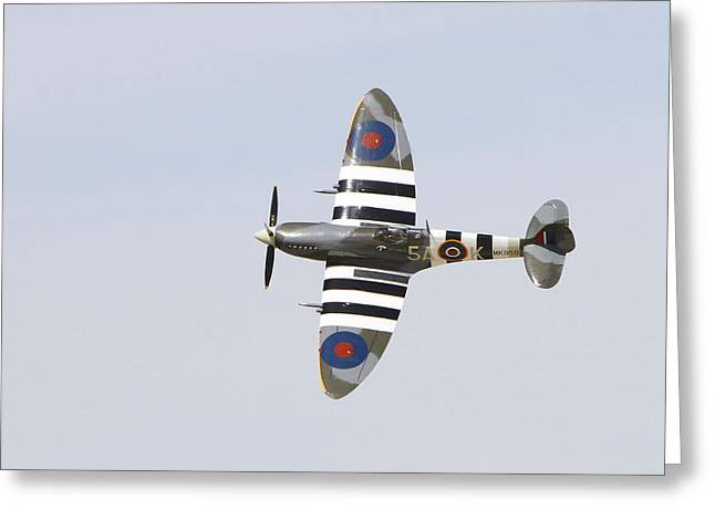 Spitfire Mk959  Greeting Card by Shoal Hollingsworth