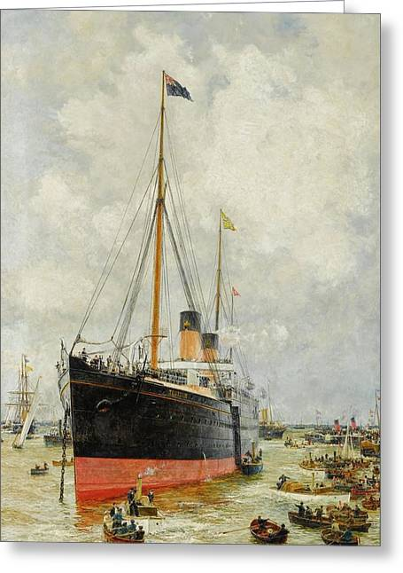 Spithead Greeting Card