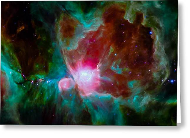 Spitzer's Orion Greeting Card