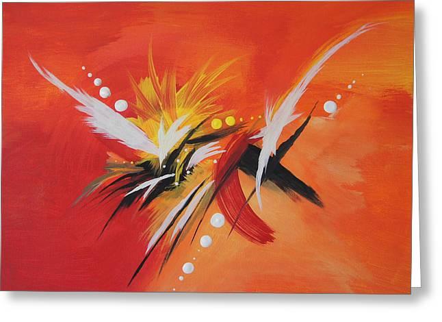 Splash Of Imagination Greeting Card by Art Spectrum