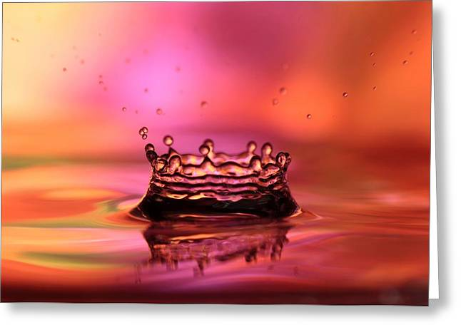 Splash Greeting Card by Sabrina L Ryan