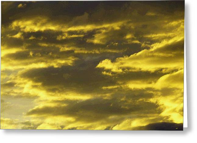 Splendid Cloudscape 10 Greeting Card
