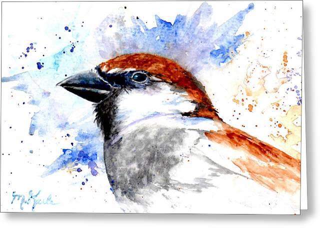 Splendid Sparrow Greeting Card