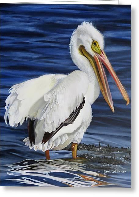 Splendor At Half Moon Island Greeting Card by Phyllis Beiser