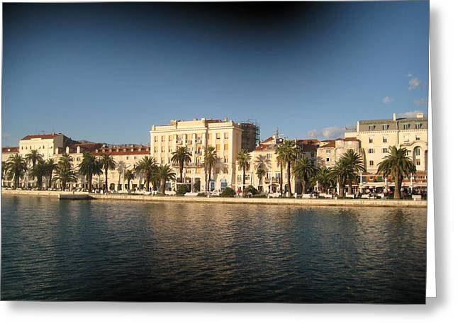 Split- Croatia Greeting Card