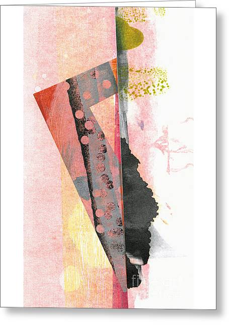 Split Personality Greeting Card by Kelley Albert