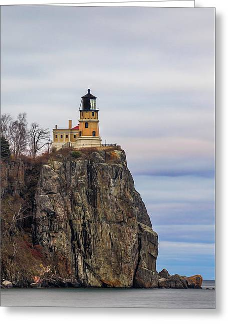Split Rock  Greeting Card