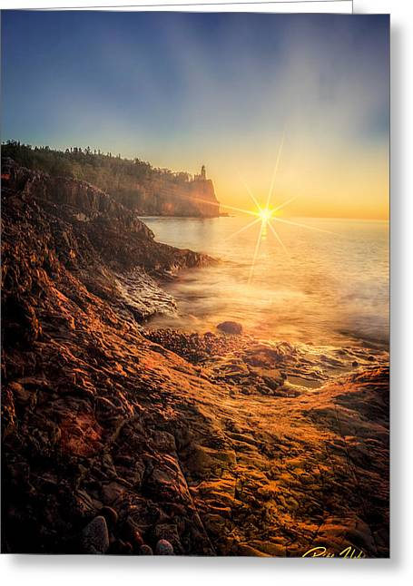 Split Rock Glory Greeting Card