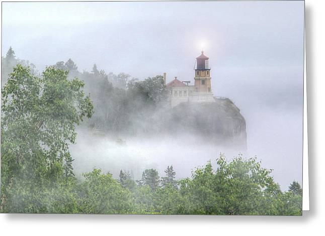 Split Rock Lighthouse Lake Superior North Shore Greeting Card