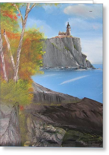 Split Rock Lighthouse Minnesota Greeting Card