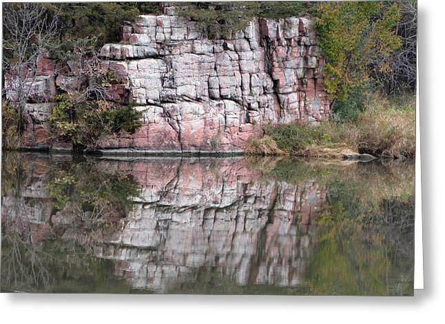 Split Rock State Park Near Garritson South Dakota Greeting Card
