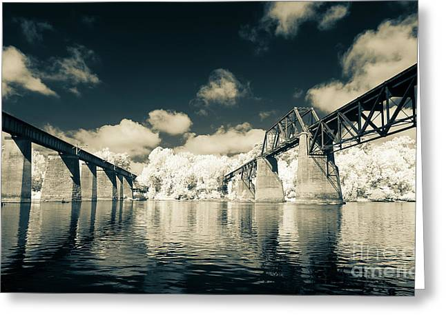 Congaree Trestles Cayce, Sc Greeting Card