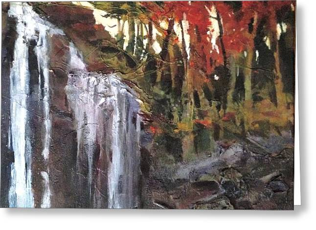 Splitrock Falls Greeting Card