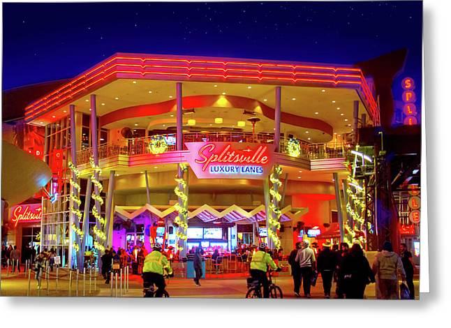 Splitsville Luxury Lanes Greeting Card