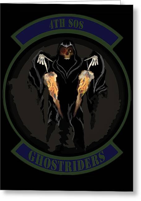 Spooky  Greeting Card by John Bainter