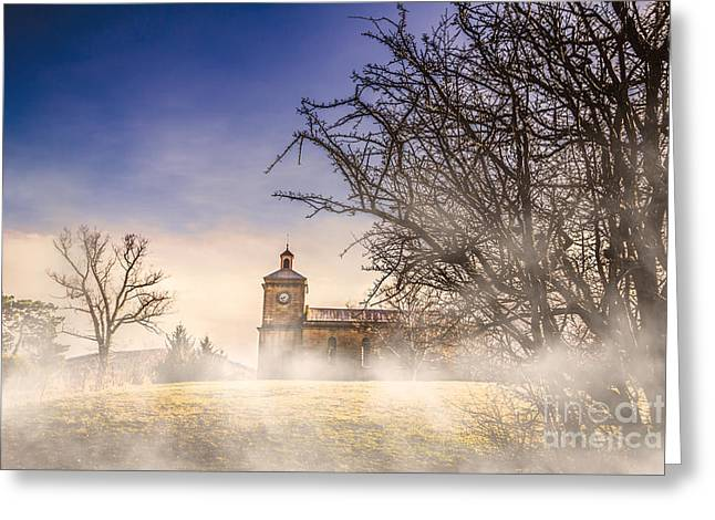 Spooky Old Church Greeting Card by Jorgo Photography - Wall Art Gallery
