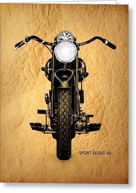 Sport Scout 45 Greeting Card
