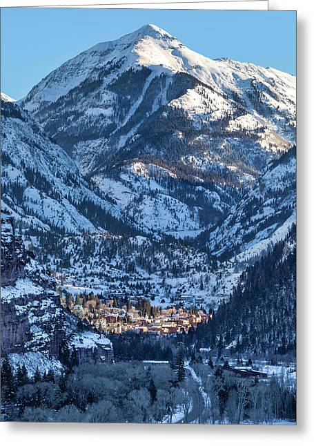 Spotlight On Ouray Greeting Card