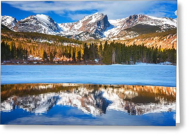 Sprague Lake Greeting Card by Darren  White