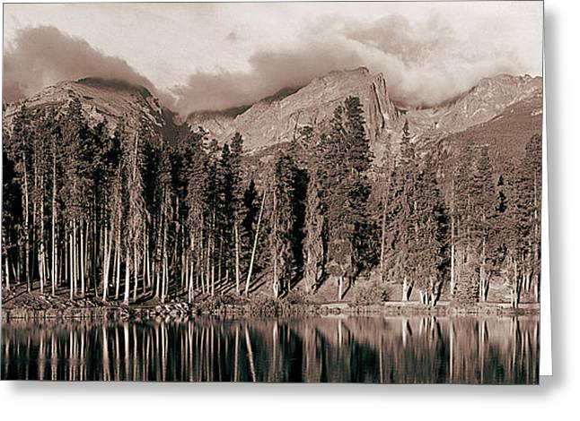 Sprague Lake Morning Greeting Card