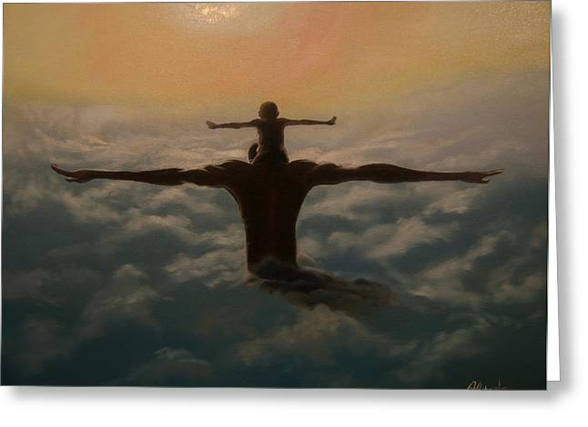 Ambition Greeting Cards - Spread Your Wings Greeting Card by Jerome White