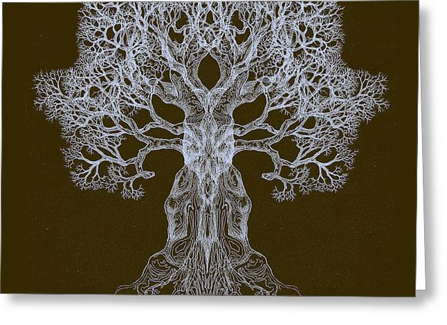 Spreading In Every Direction Tree 13 Hybrid 3 Greeting Card