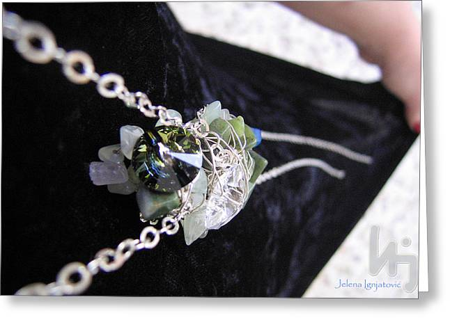 Fashion Jewelry Greeting Cards - Spring 001 Greeting Card by Jelena Ignjatovic