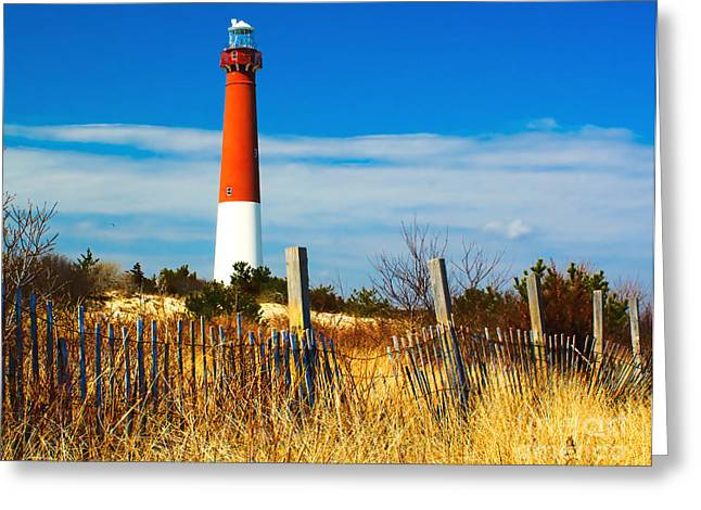 Spring At Barnegat Greeting Card