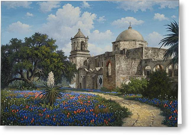 Spring At San Jose Greeting Card by Kyle Wood