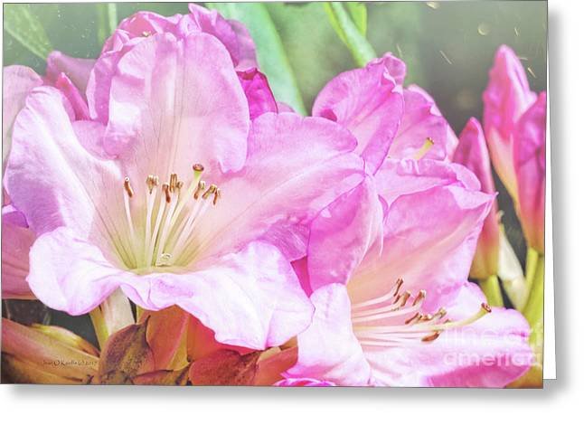 Spring Bling Greeting Card