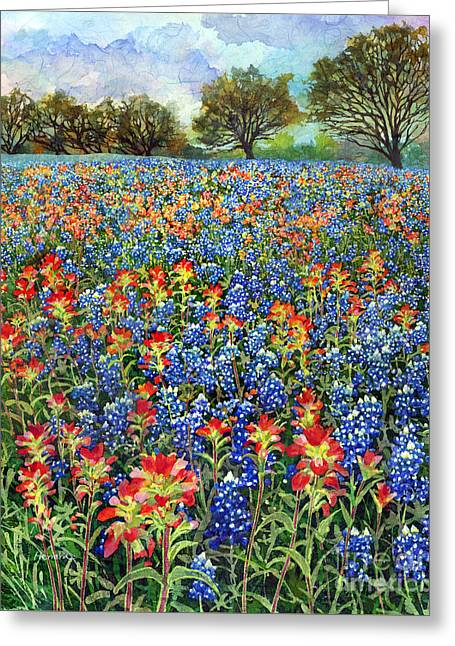 Spring Bliss Greeting Card