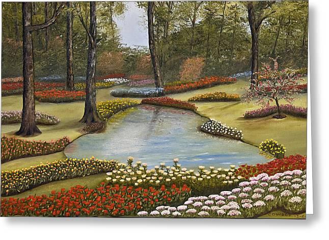 Spring Blooms Greeting Card by Darren Yarborough