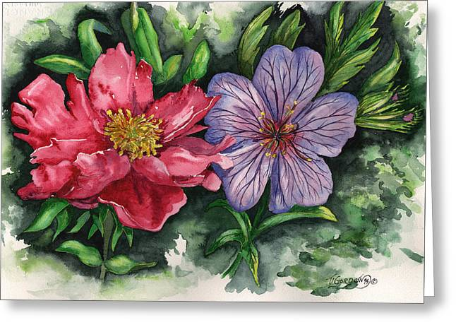 Spring Blooms Greeting Card by Timithy L Gordon