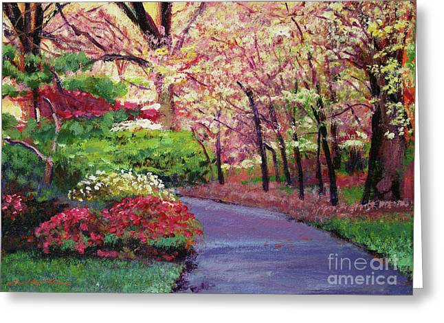 Spring Blossoms Impressions Greeting Card