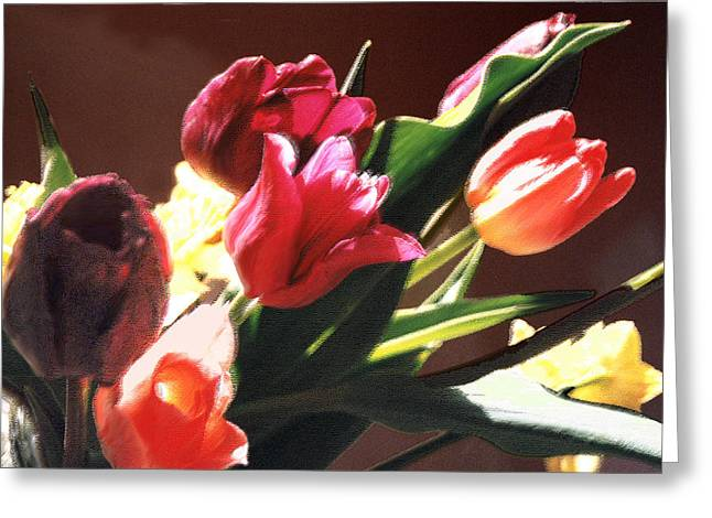 Greeting Card featuring the photograph Spring Bouquet by Steve Karol