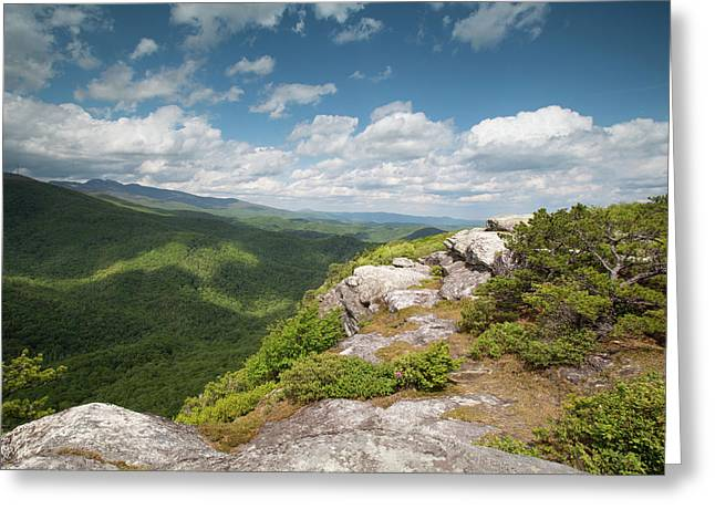Spring Cliffs Greeting Card by Jim Neal