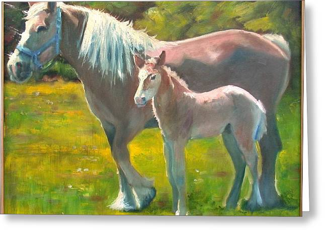 Spring Colt Greeting Card