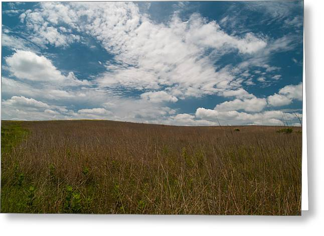 Greeting Card featuring the photograph Spring Creek Prairie by Joshua House