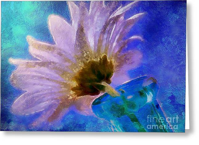Spring Delivery Greeting Card by Krissy Katsimbras