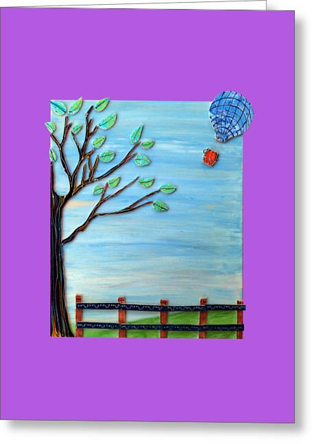 Spring Drifter Greeting Card by Aqualia