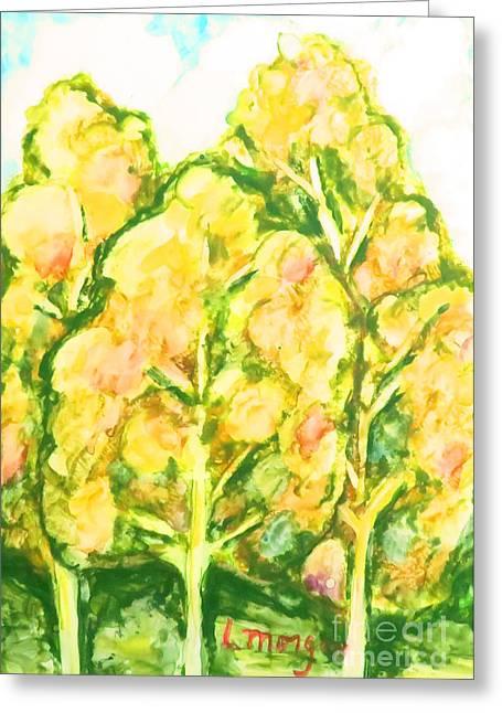 Spring Fantasy Foliage Greeting Card