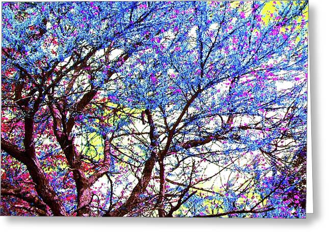 Greeting Card featuring the photograph Spring Fantasy by Susan Carella