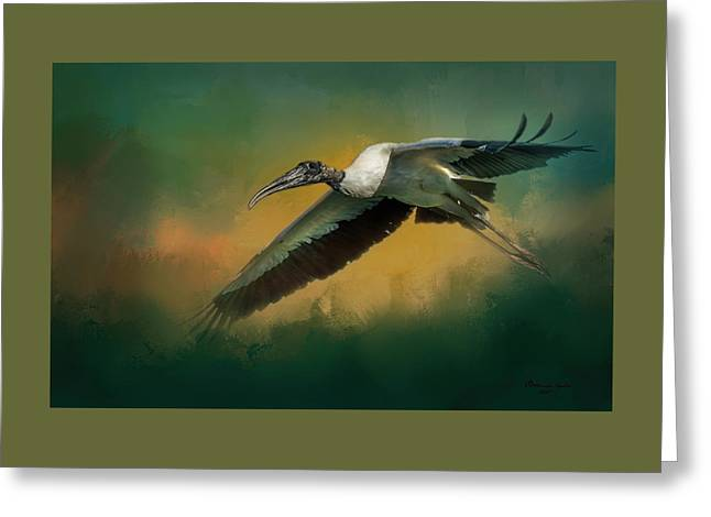 Spring Flight Greeting Card by Marvin Spates