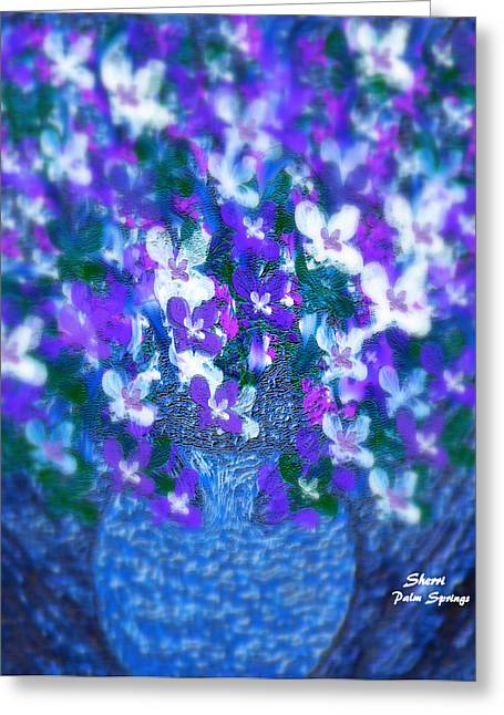 Spring flowers digital art by sherris of palm springs spring flowers greeting card by sherris of palm springs mightylinksfo