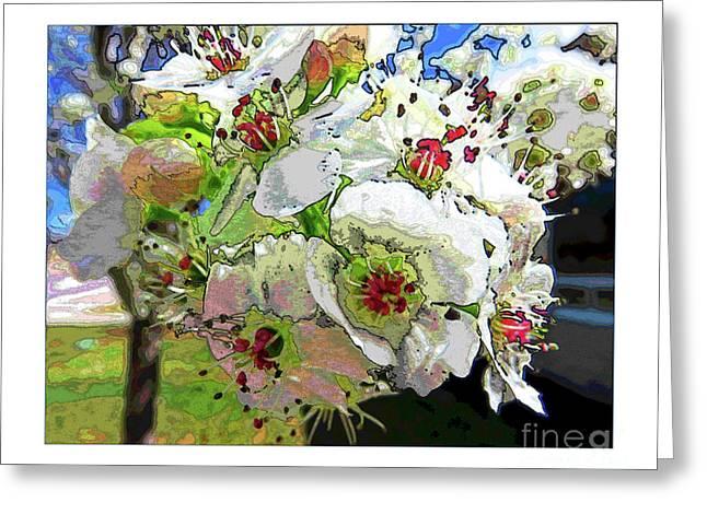Spring Has Sprung Greeting Card by Deborah Nakano