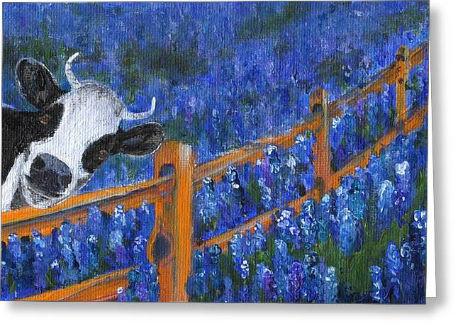 Greeting Card featuring the painting Spring Has Sprung by Jamie Frier