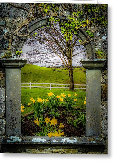 Greeting Card featuring the photograph  Spring In Ballynacally, County Clare by James Truett