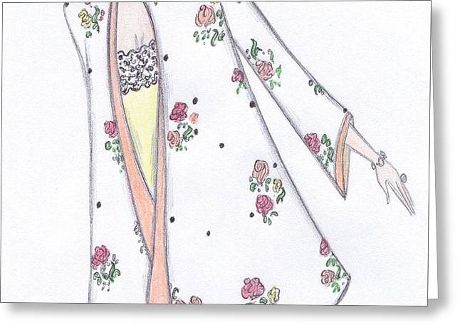 Spring In Bloom Greeting Card by Christine Corretti