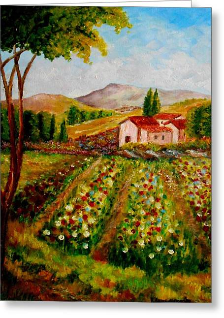 Spring In France Greeting Card