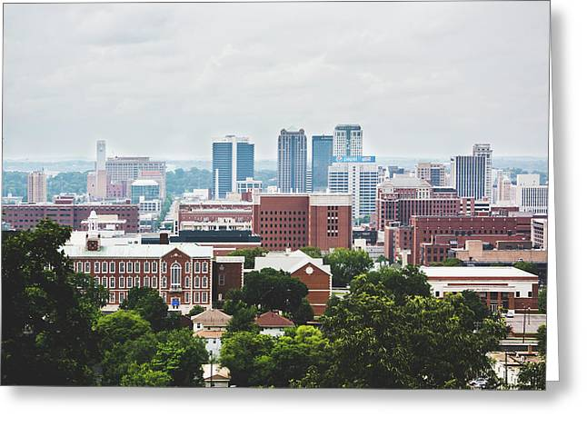 Greeting Card featuring the photograph Spring In The Magic City - Birmingham by Shelby Young